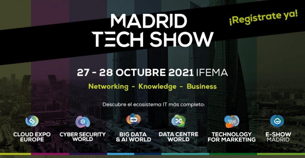 El Cyber Security Word es parte del Madrid Tech Show 2021.